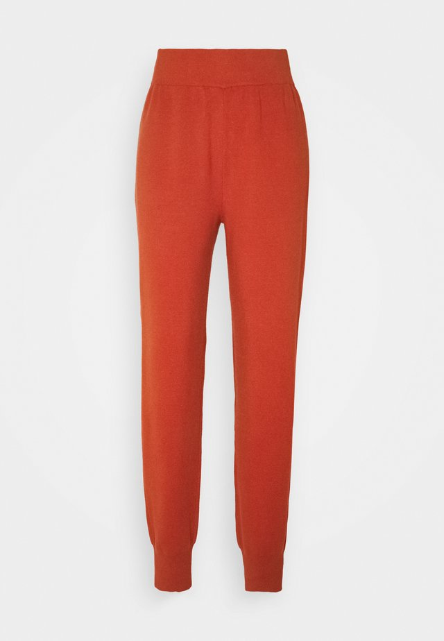 YASFONNY PANTS  - Trainingsbroek - auburn