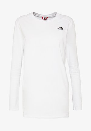 WOMENS SIMPLE DOME TEE - Long sleeved top - white