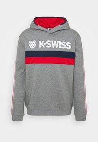 K-SWISS - HERITAGE SPORT HOODED  - Mikina - grey - 0