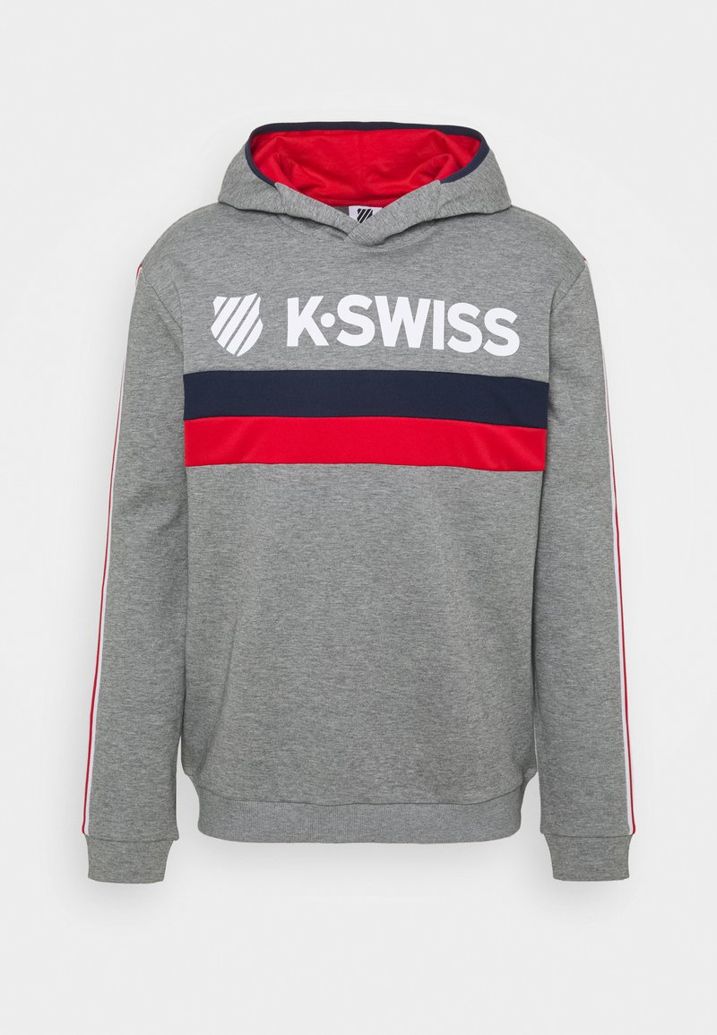 K-SWISS - HERITAGE SPORT HOODED  - Mikina - grey
