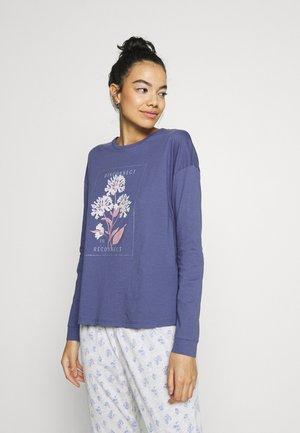 FLOWER  - Pyjamashirt - blue
