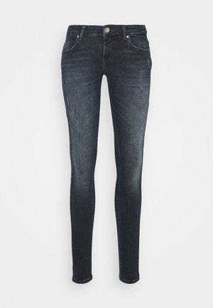 ONLCORAL LIFE - Jeans Skinny Fit - blue black denim