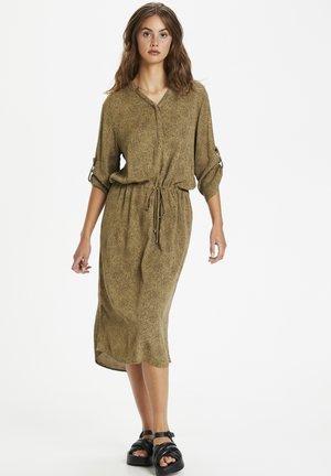 SL ZAYA  - Day dress - scattered dot print elmwood