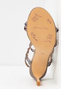 Alma en Pena - Sandaler med høye hæler - pewter - 6