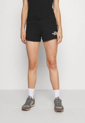 RAINBOW SHORT - Pantalón corto de deporte - black graphic