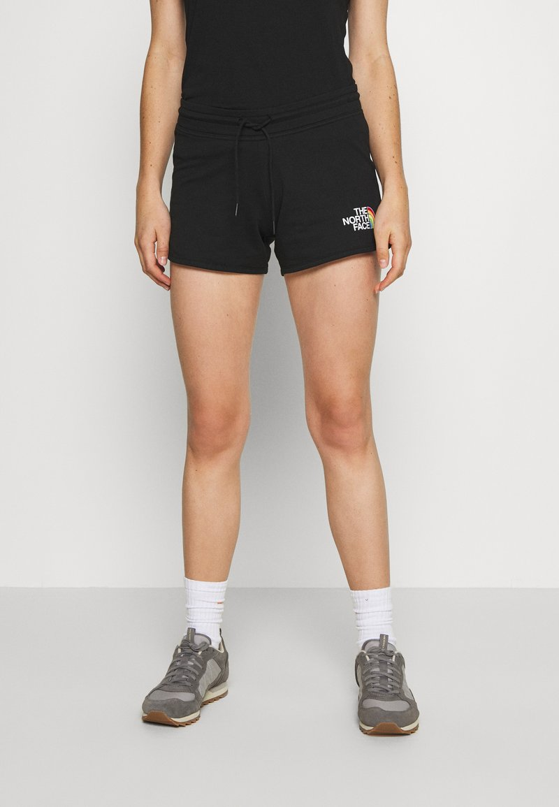 The North Face - RAINBOW SHORT - Sports shorts - black graphic
