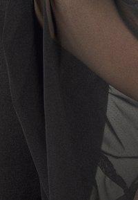 Missguided Petite - TULLE SLEEVE  - Sweatshirt - black - 6