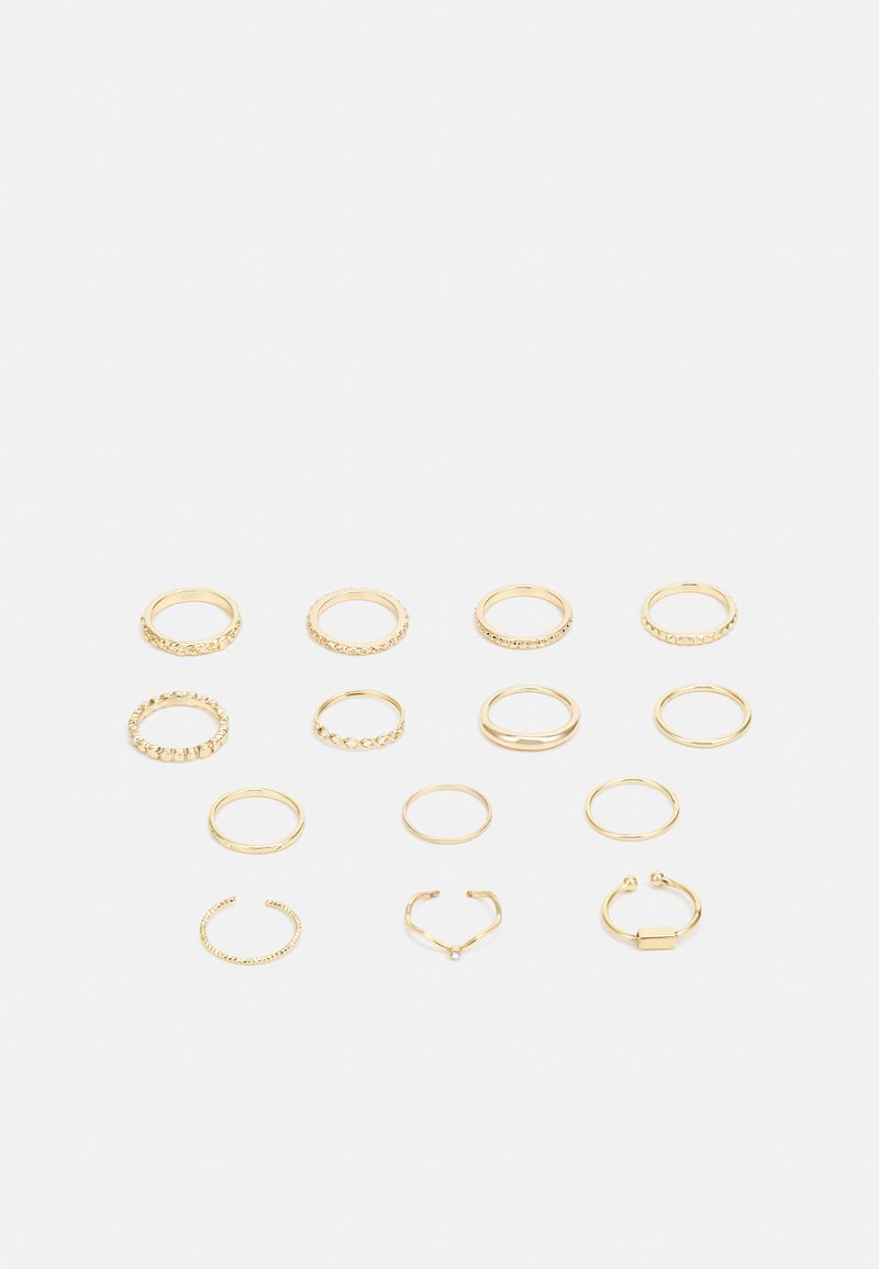 Fire & Glory - 14 PACK - Ring - gold-coloured