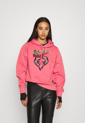 F-ANG-HOOD-K20 SWEAT-SHIRT - Bluza z kapturem - pink