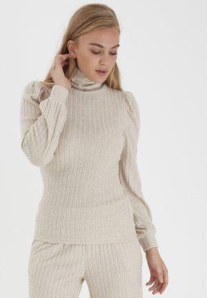 BYSAMLA  - Långärmad tröja - oatmeal melange