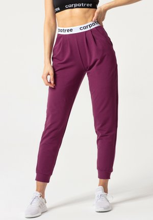 LUCKY JOGGERS - Tracksuit bottoms - blueberry