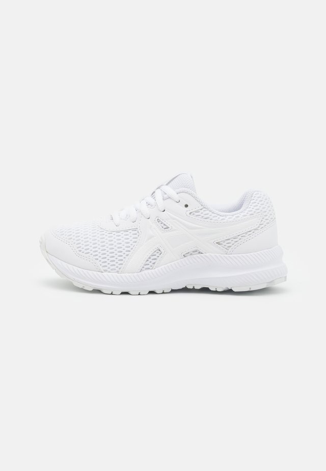 CONTEND 7 UNISEX - Neutral running shoes - white