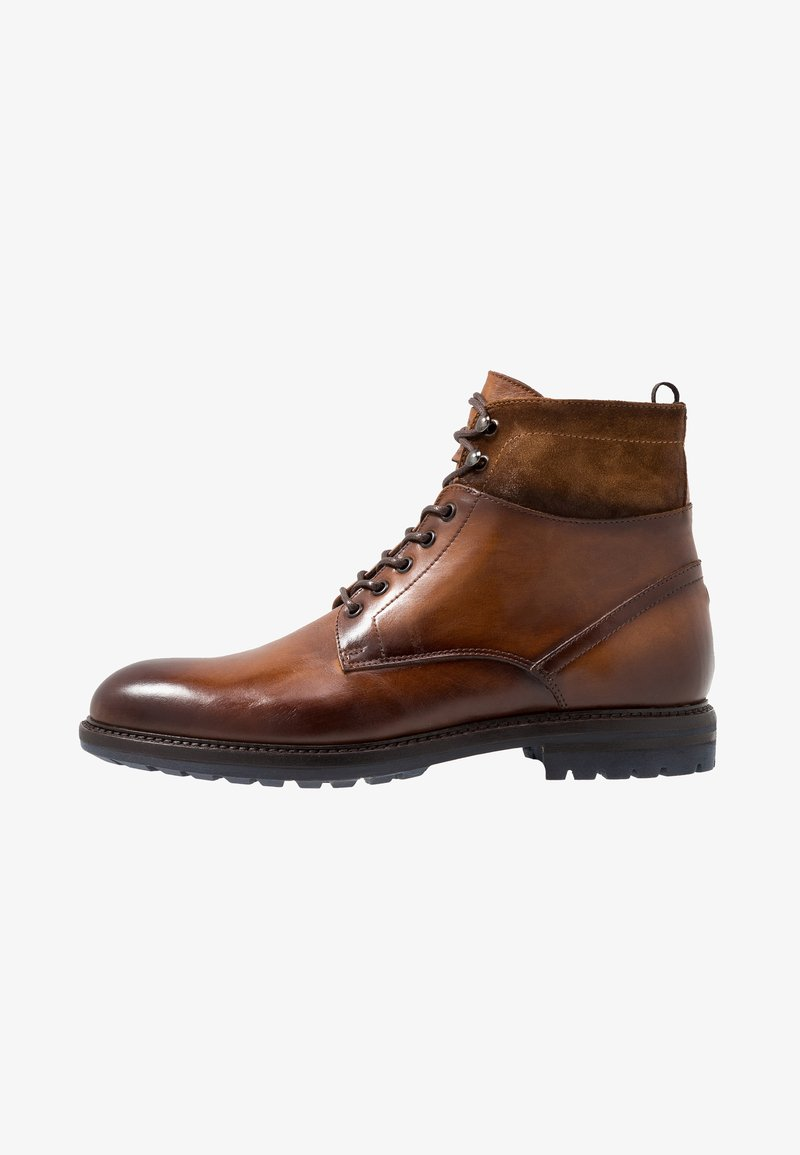 Giorgio 1958 - Lace-up ankle boots - cognac