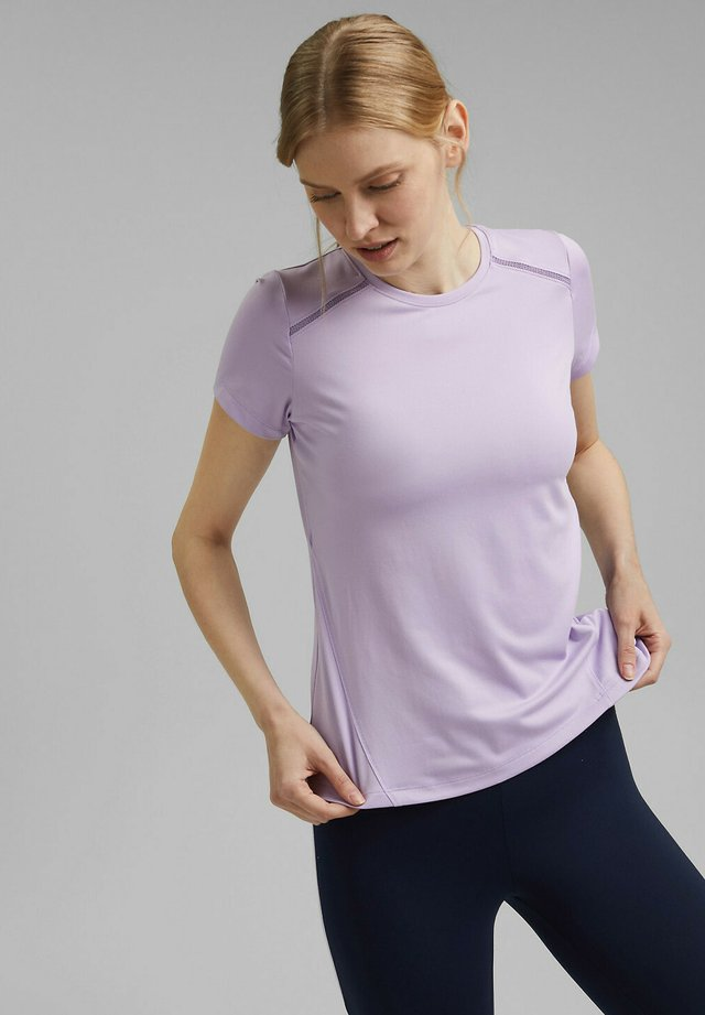 T-shirt imprimé - lavender