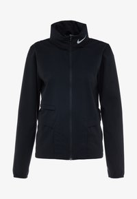 Nike Performance - Sports jacket - black/reflective silver