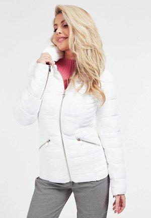 Down jacket - weiß