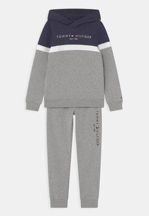 COLORBLOCK SET - Tuta - light grey heather