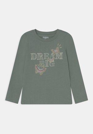 MIDTIER GRAPHIC TEE - Long sleeved top - green