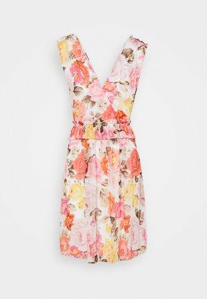 VIHIBISCUS DRESS - Day dress - cloud dancer/multi color