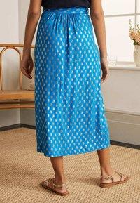 Boden - A-line skirt - marokkoblau paisleymuster - 1