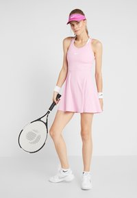 Nike Performance - DRY DRESS - Sports dress - pink rise/white - 1