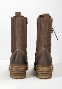 Inuovo - Platform ankle boots - nb brown ubr - 4