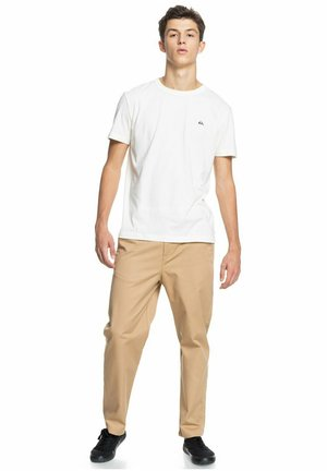 ESSENTIALS - Print T-shirt - antique white