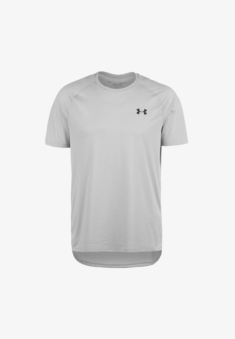 Under Armour - TECH NOVELTY - T-shirt basic - halo gray