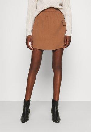 SAGISA SKIRT - A-line skirt - cinnamon