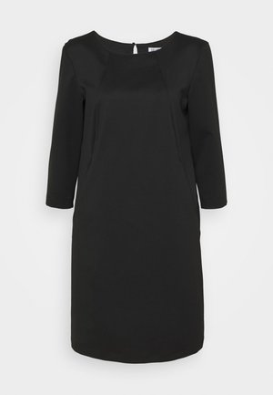 ABITO SUYSTAMO - Jersey dress - nero