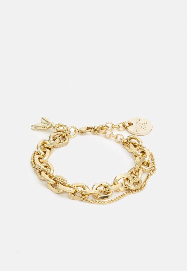 BRITISH CHAINBRACELET - Armband - gold-coloured