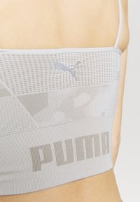 Puma - EVOKNIT SEAMLESS CROP - Camiseta de deporte - lunar rock - 5