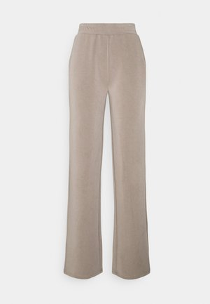PCLISE WIDE PANT LOUNGE - Trousers - cinder