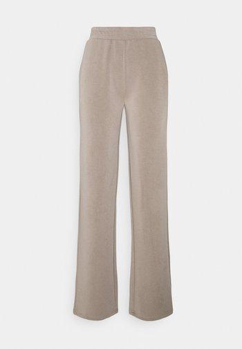 PCLISE WIDE PANT LOUNGE - Bukse - cinder