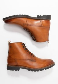 Base London - CALLAHAN - Lace-up ankle boots - tan - 1