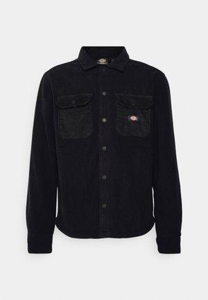 MACKENZIE - Fleecová bunda - black