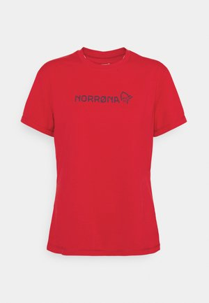 TECH - T-shirts med print - jester red