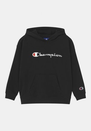 LOGO HOODED UNISEX - Huppari - black