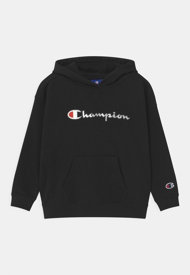 LOGO HOODED UNISEX - Sweat à capuche - black