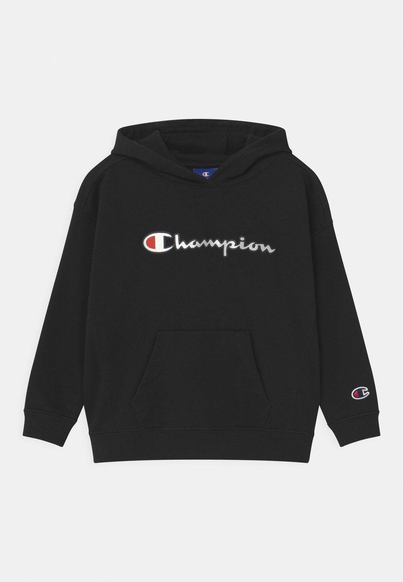Champion Rochester - LOGO HOODED UNISEX - Kapuzenpullover - black