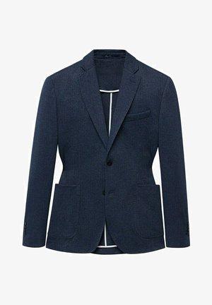 OSLO - Blazer jacket - bleu marine foncé