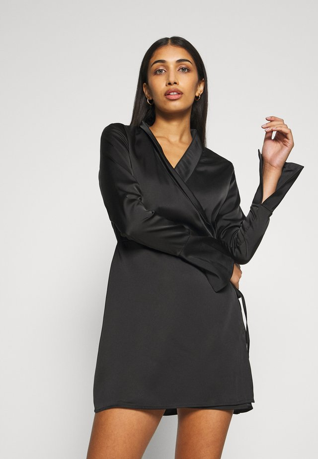 GIA DRESS - Robe d'été - black