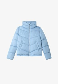 Stradivarius - MIT ROLLKRAGEN - Winter jacket - blue - 4