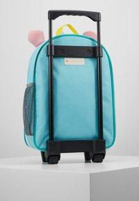 Skip Hop - ZOO UNICORN - Wheeled suitcase - blue - 3