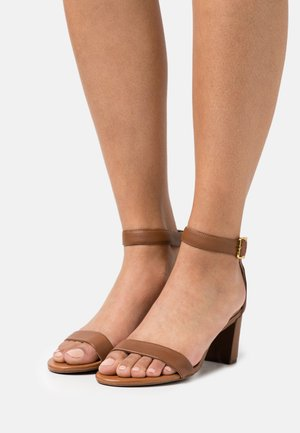 WAVERLI - Sandalias - deep saddle tan