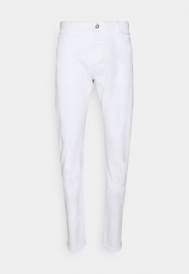 POCKETS PANT - Jeans a sigaretta - bianco