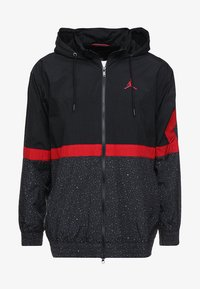 Jordan - DIAMOND CEMENT JACKET - Windbreakers - black/gym red - 3