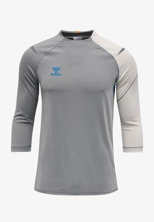 Long sleeved top - sharkskin/gray violet