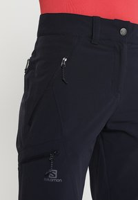 Salomon - WAYFARER TAPERED PANT - Friluftsbukser - night sky - 3