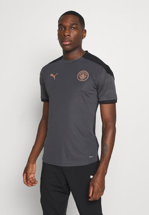MANCHESTER CITY TRAINING - Club wear - asphalt/copper